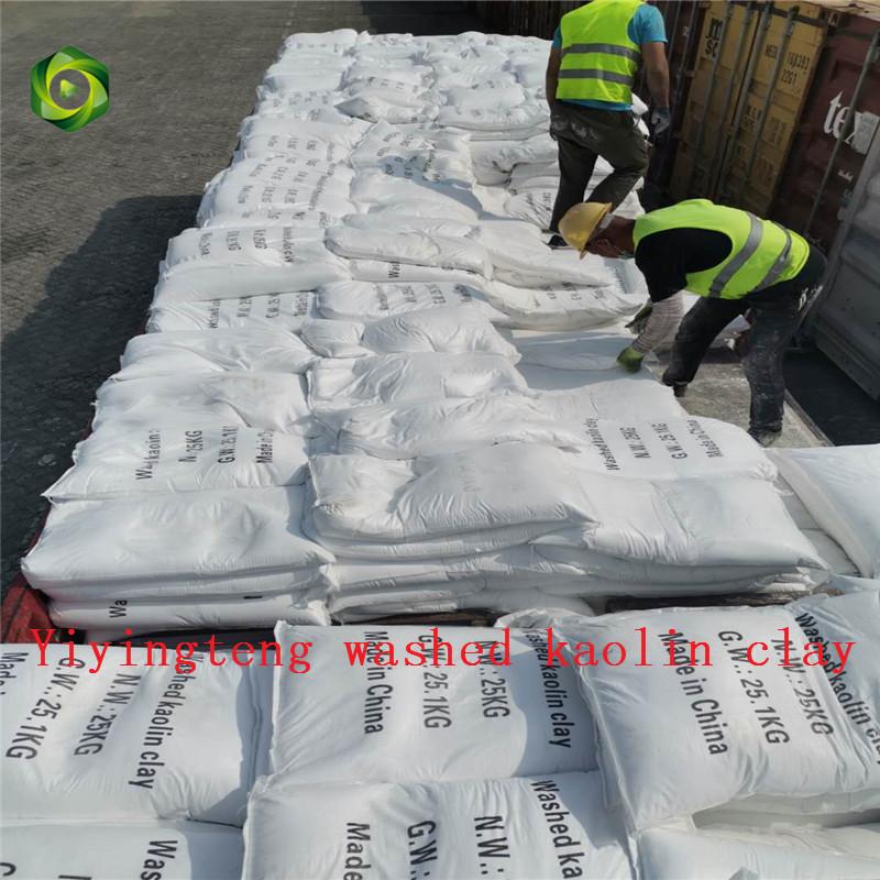 2020 washed kaolin clay good export Italy